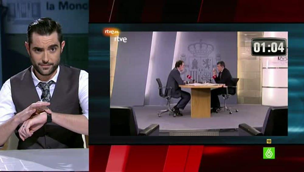 Dani Mateo analiza el lenguaje verbal de Rajoy