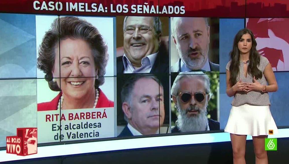 Los señalados en el 'caso Imelsa'