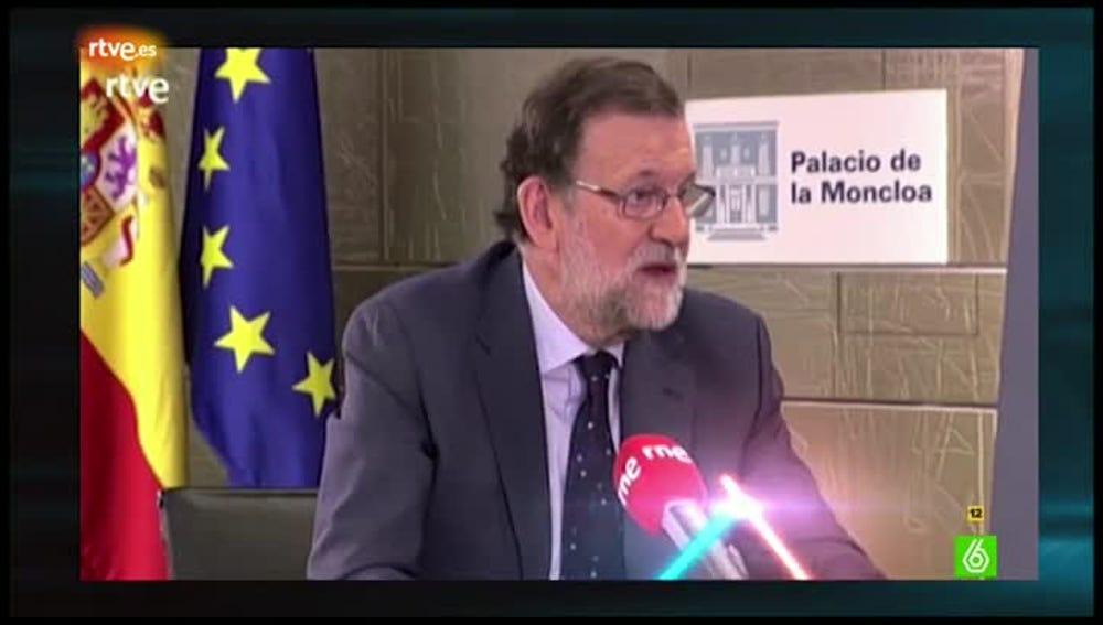 El lenguaje no verbal de Rajoy, en El Intermedio