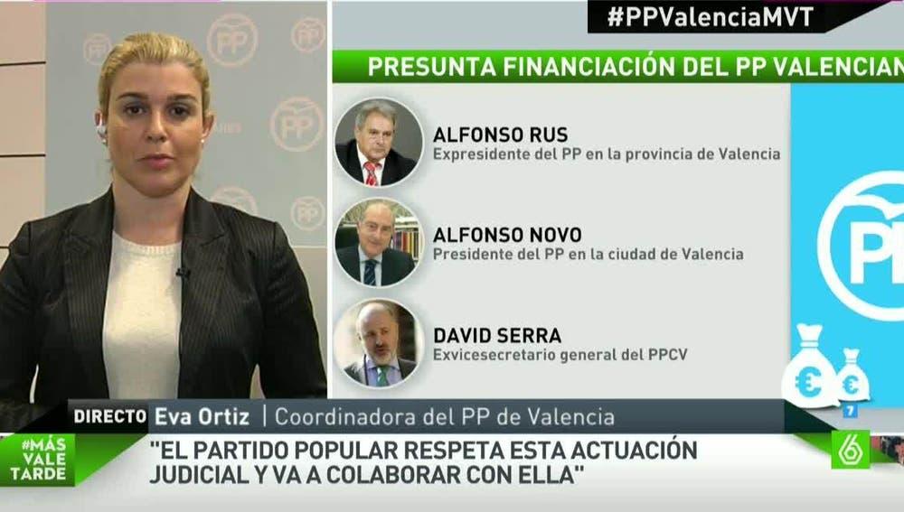 Eva Ortiz, coordinadora del PP de Valencia