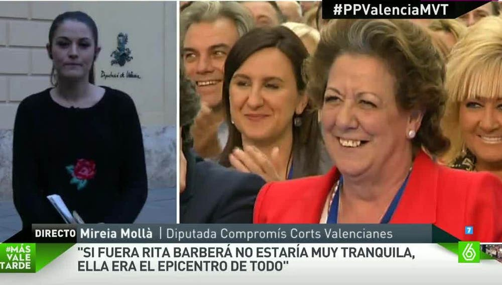 Mireia Mollà, diputada de Compromís en las Corts Valencianes