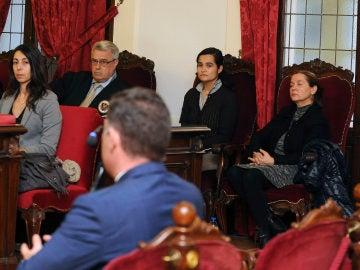 Imagen de la nueva jornada del juicio celebrado en la Audiencia Provincial de León.