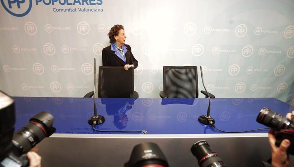La senadora valenciana Rita Barbera