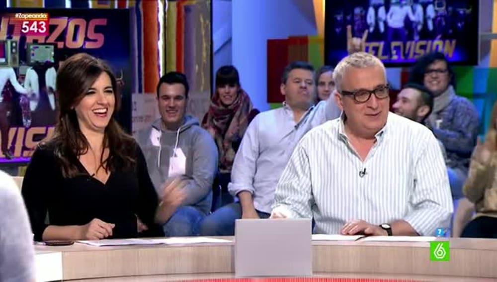 Así actúa Miki Nadal cuando está visible en la televisión