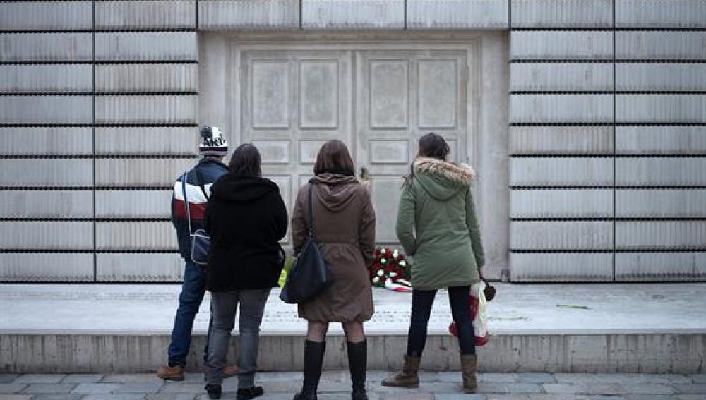 Monumento que recuerda a las víctimas judía