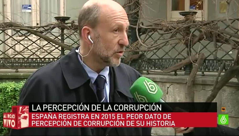 Manuel Villoria, miembro del comité ejecutivo de Transparencia Internacional