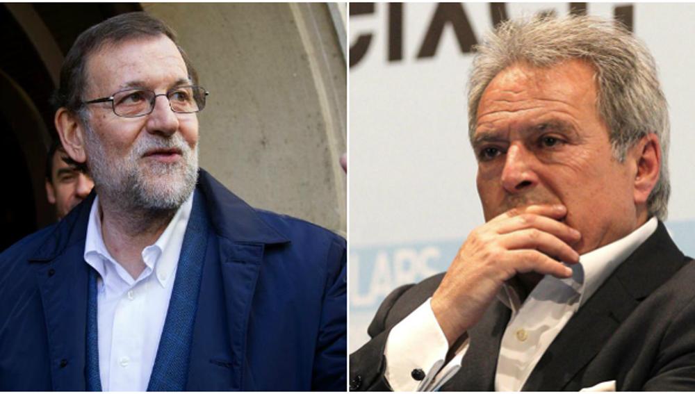 Mariano Rajoy y Alfonso Rus