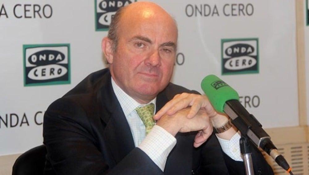 Luis de Guindos en Onda Cero