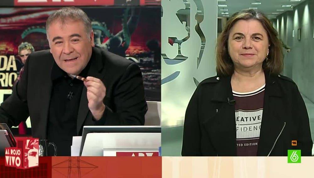 Lucía Méndez, redactora jefa de El Mundo