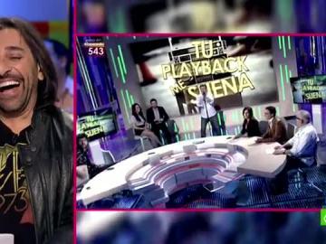 Antonio Carmona valora el 'Tu playback me suena' de Miki Nadal e Irene Junquera