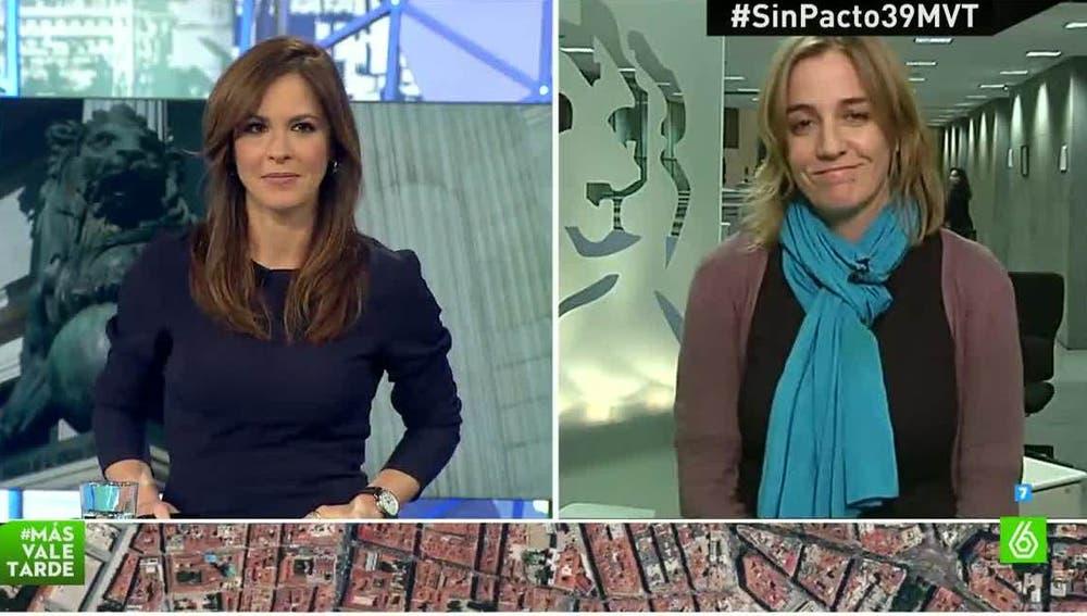 Tania Sánchez, diputada de Podemos
