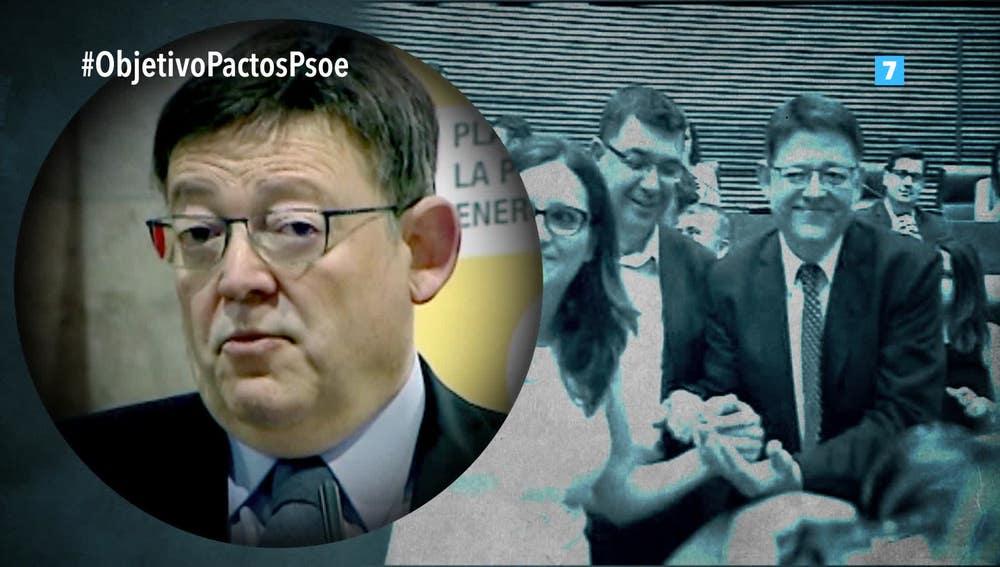 El valenciano Ximo Puig, en El Objetivo