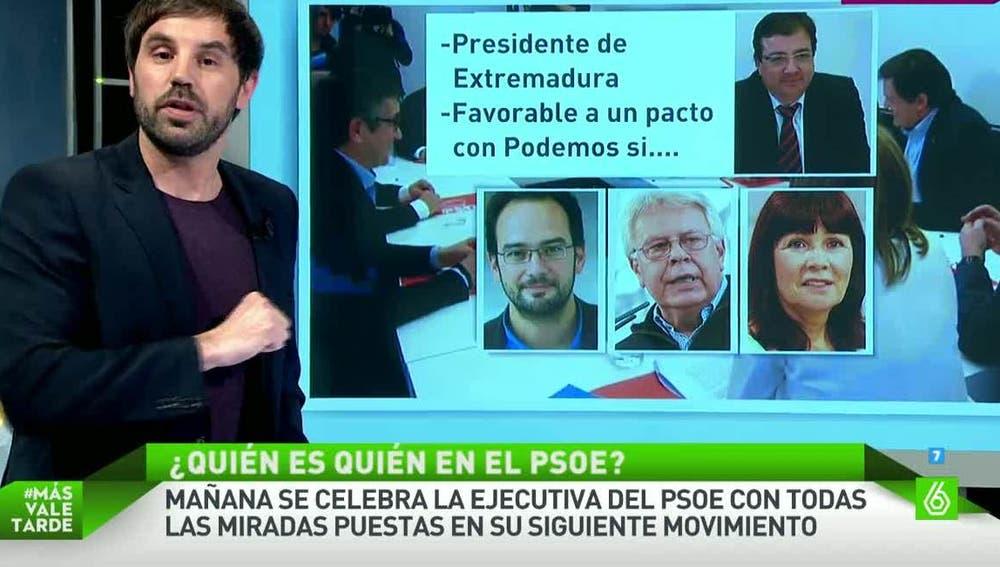 ¿Quién es quién en el Comité Federal del PSOE?