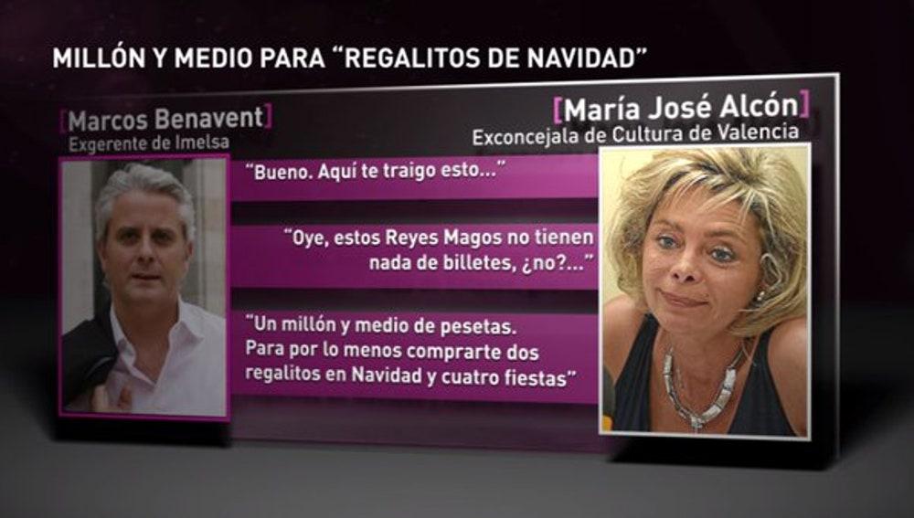Conversación entre Alcón y Marcos Benavent