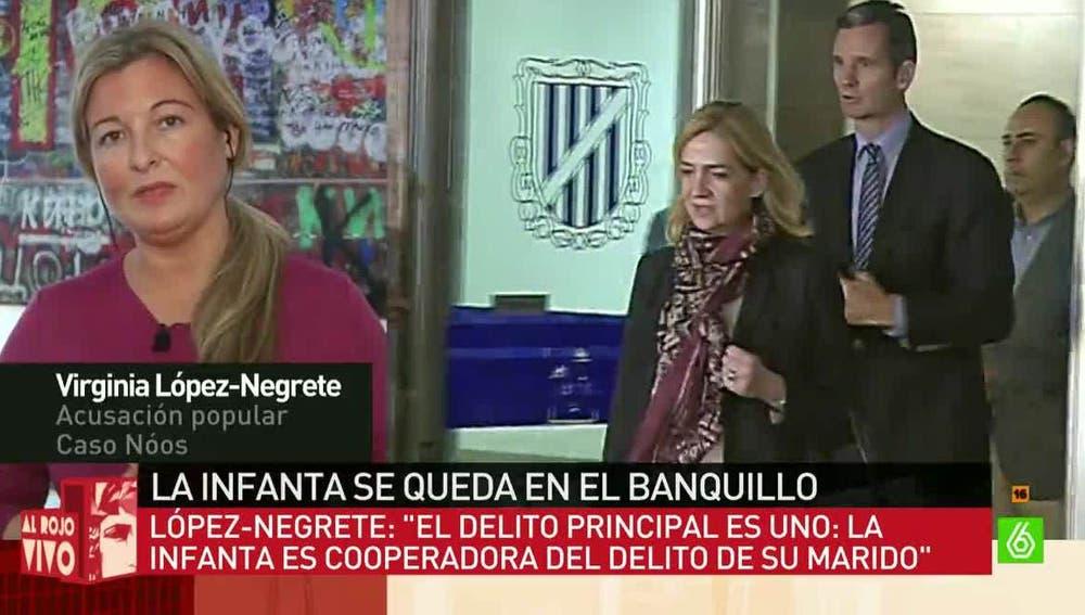 La abogada Virginia López-Negrete
