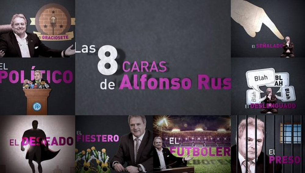 Las ocho caras de Alfonso Rus
