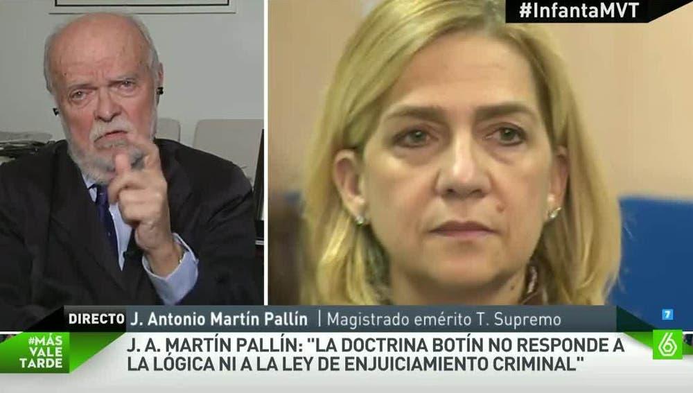 Martín Pallín, magistrado Emérito del Tribunal Supremo