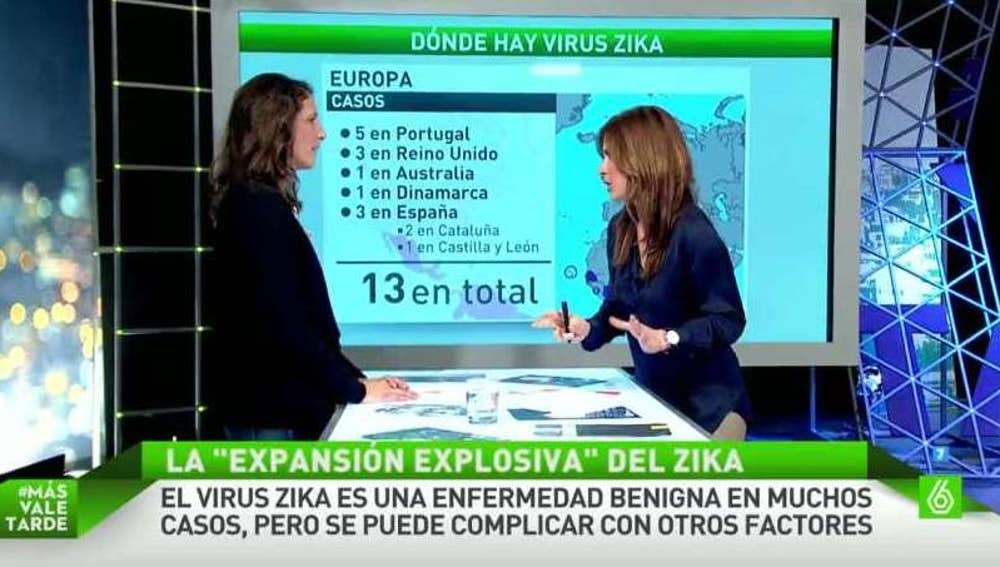 Marta Díaz, experta en medicinas tropicales