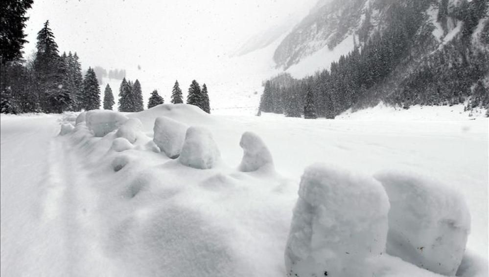 Avalancha en Canadá
