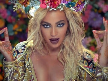 Beyoncé en el videoclip 'Hymn for the weekend'