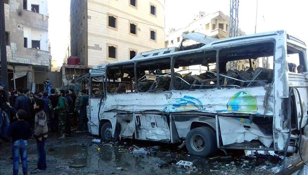 Varias explosiones registradas en el barrio de Sayida Zeinab de Damasco