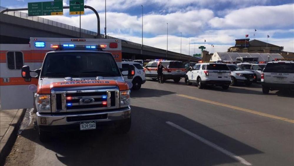 Lugar en el que se ha producido el tiroteo en Denver, Colorado