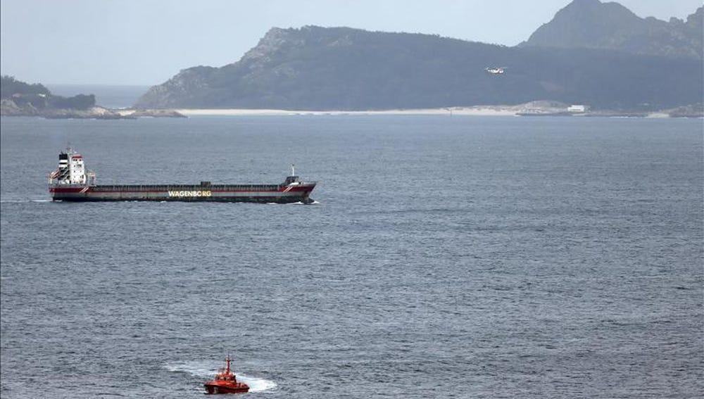 Continúa la búsqueda de los dos marineros desaparecidos en Galicia el pasado viernes