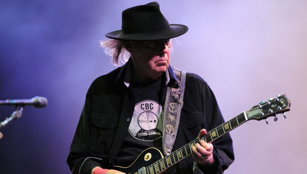 Neil Young en una imagen de archivo
