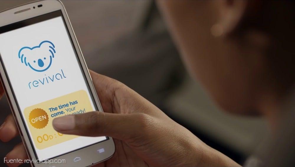 Revival, una app para enviar cápsulas de tiempo