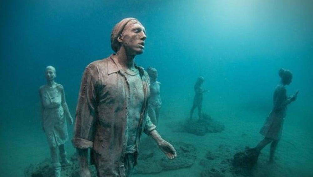 Museo subacuático en Lanzarote
