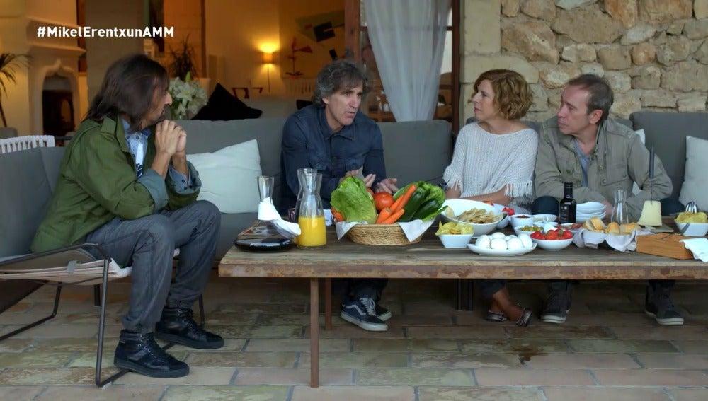 Antonio Carmona, Mikel Erentxun, Sole Giménez y Nacho García Vega