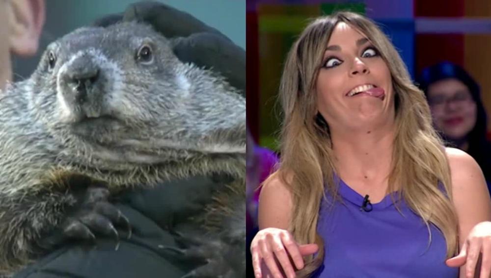 Anna Simon hace la 'marmota muerta'