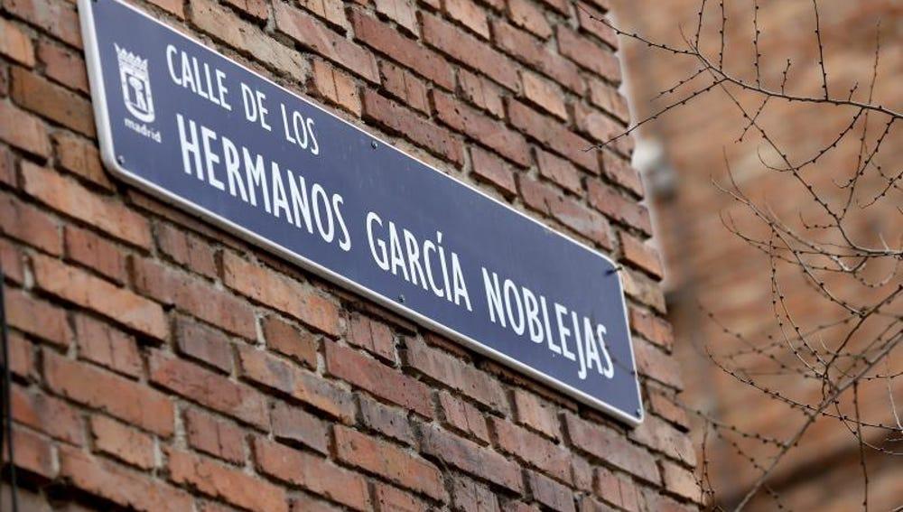 Calle de los Hermanos García Noblejas en Madrid