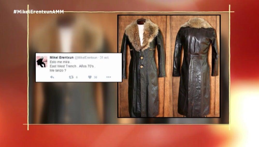 Las consultas de Mikel Erentxun en Twitter para comprar ropa