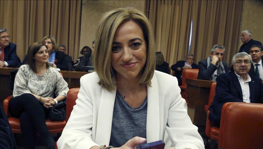 Carme Chacón, diputada del PSOE
