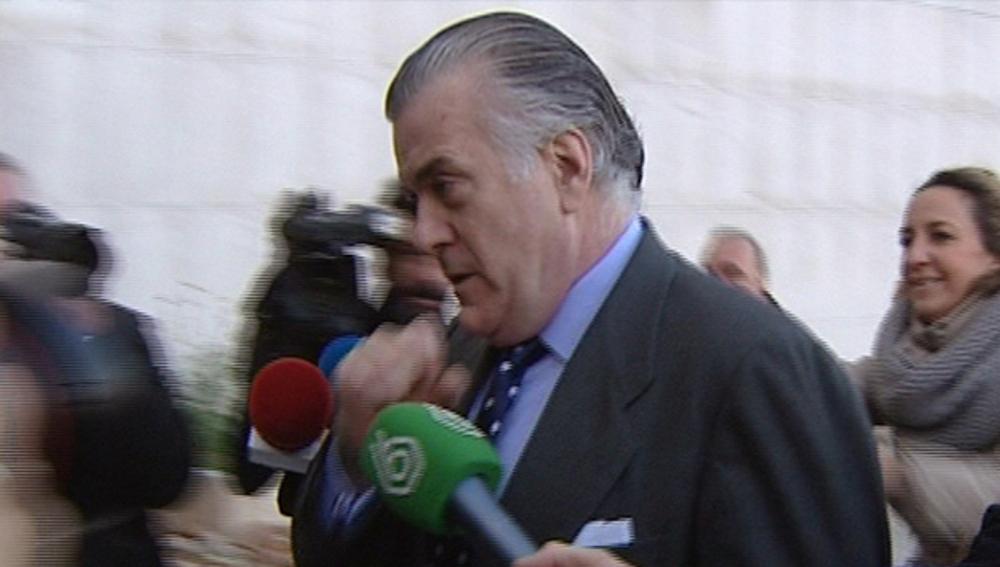 Luis Bárcenas llega a los juzgados