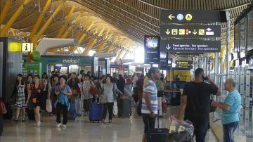 Foto de archivo del Aeropuerto Adolfo Suárez Madrid-Barajas