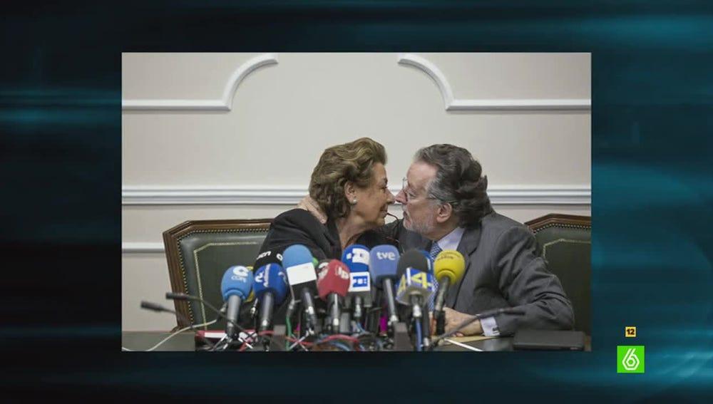 Rita Barberá y Alfonso Grau
