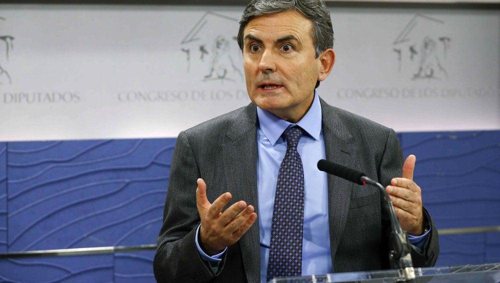 El portavoz de Economía del PSOE, Pedro Saura