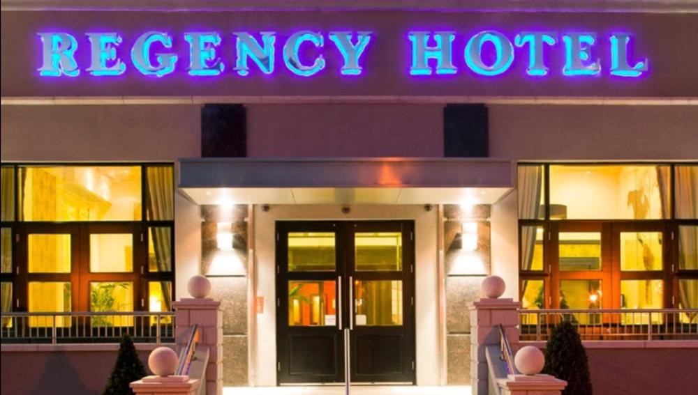 Regency Hotel de Dublin, donde ha tenido lugar el tiroteo