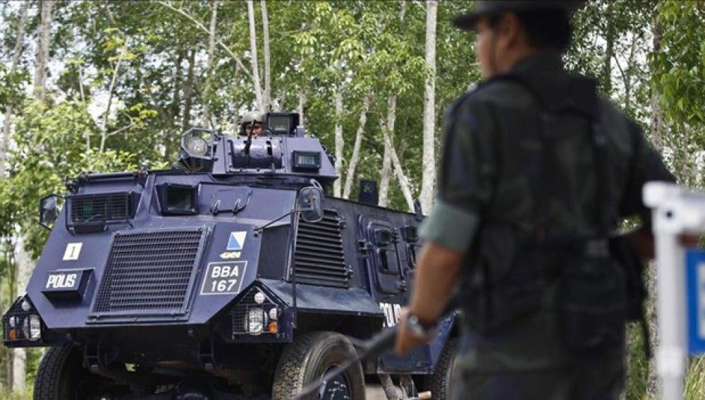 Fuerzas de seguridad de Tailandia
