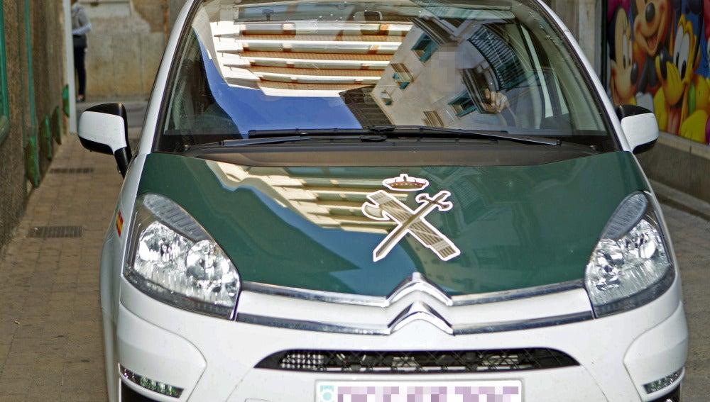 Un coche de la Guadia Civil