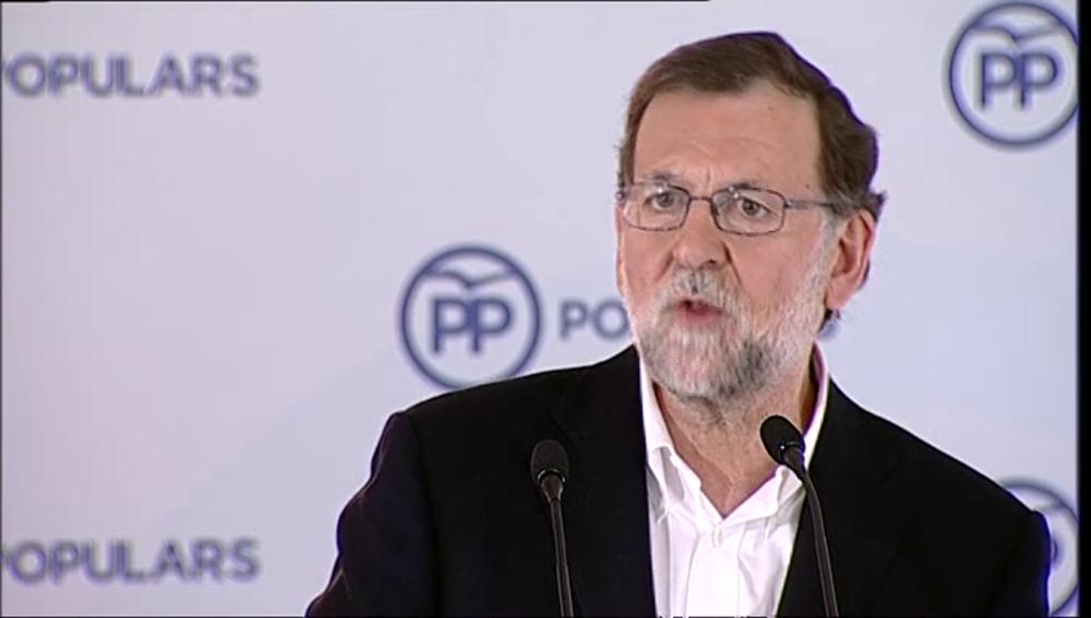 Mariano Rajoy en Cataluña