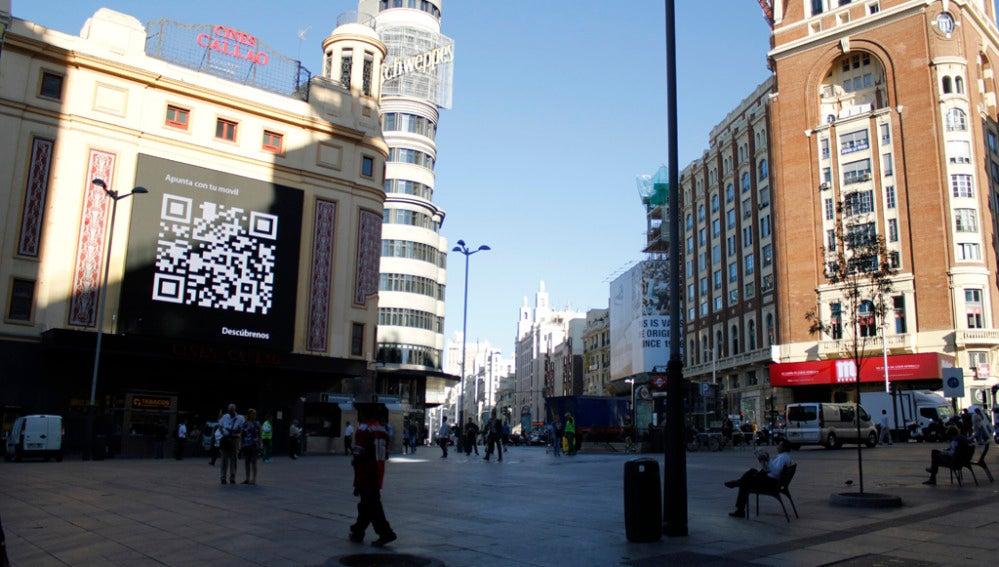 La Plaza de Callao, Madrid