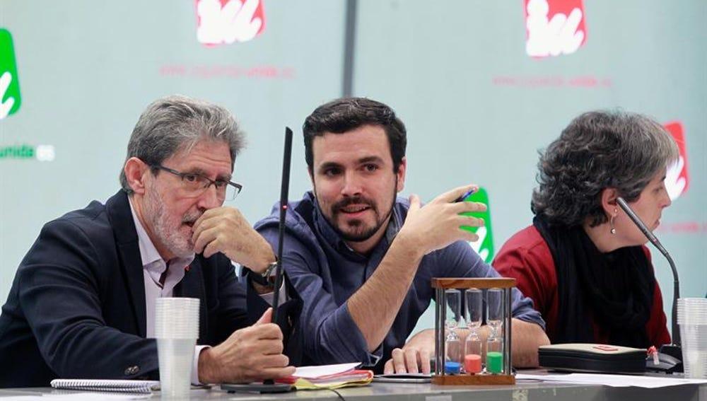 Alberto Garzón en el Consejo Político Federal de IU