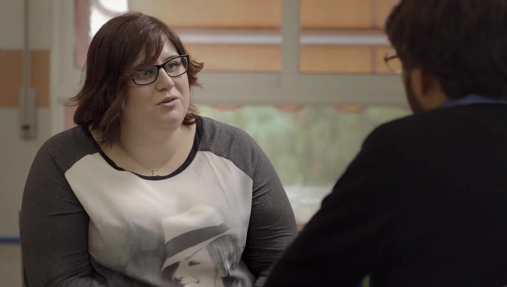 Marina Marroquí de la Asociación Ilicitana contra la Violencia de Género