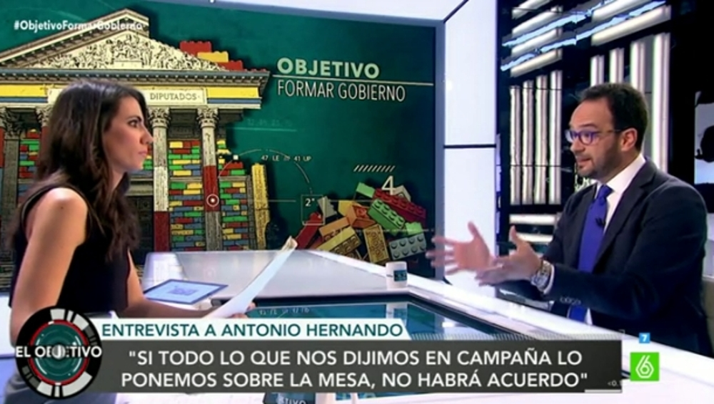 Antonio Hernando y Ana Pastor