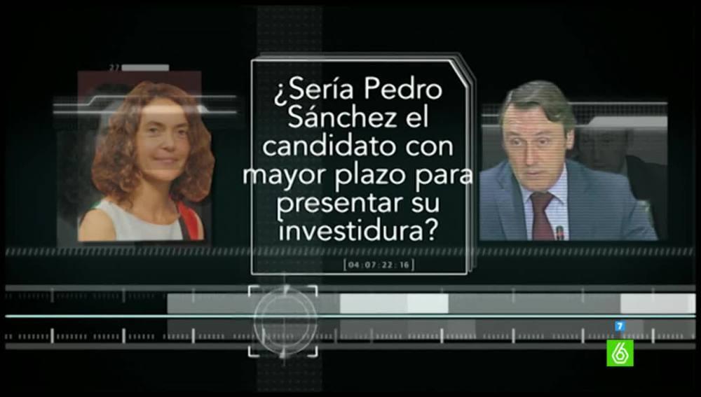 Prueba de verificación a Meritxell Batet y Rafael Hernando