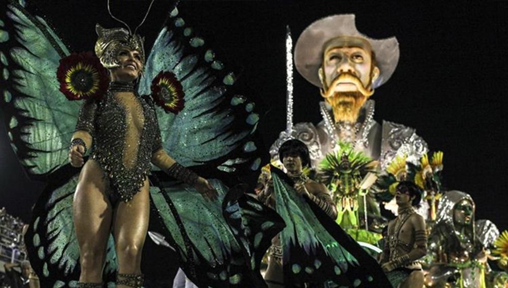 Don Quijote en el Carnaval de Brasil