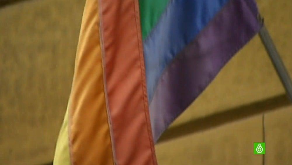 Imagen de la bandera homosexual